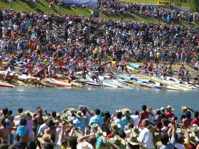 Seurallamme on ollut edustusta jokimaratonin klassikkokilpailussa, Descenso del Sellassa, vuosina 2007–2009. (Lähtö 2008.)