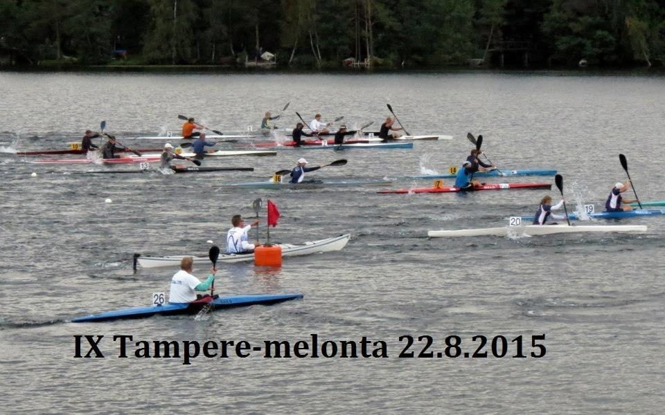 IX Tampere-melonta 22.8.2015 juliste